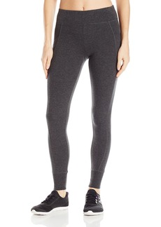 Calvin Klein Performance Women's Double Waistband 7/8 Legging with Cuff  S
