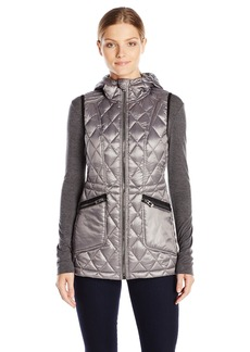Calvin Klein Performance Women's Down Filled Hooded Vest