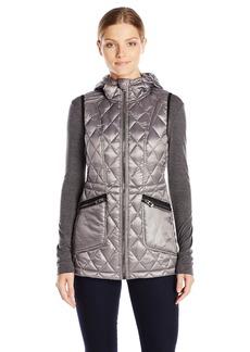 Calvin Klein Performance Women's Down Filled Hooded Vest