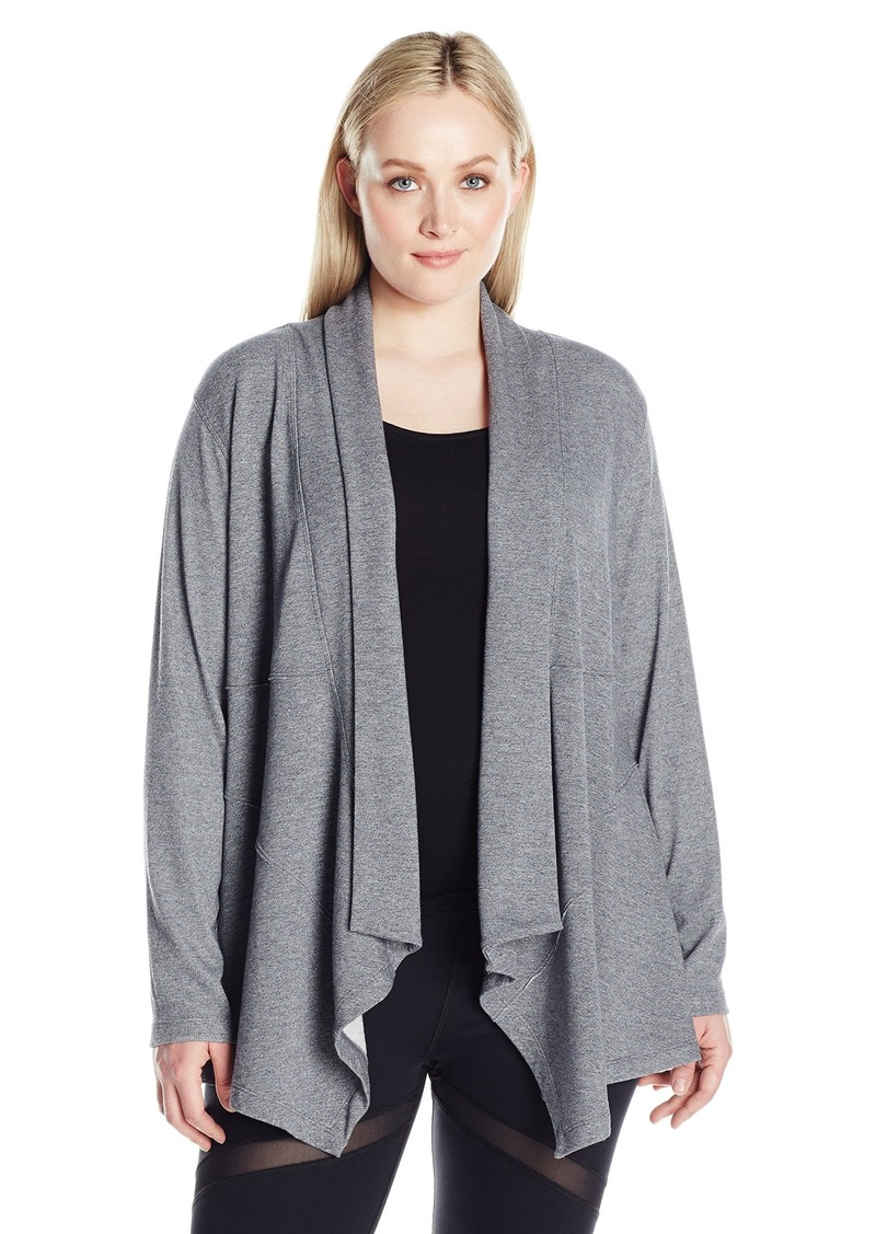 in textured get sweater front products cardigan drape drapes