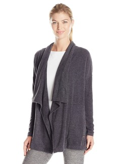 Calvin Klein Performance Women's Drape Front Knit Cardigan