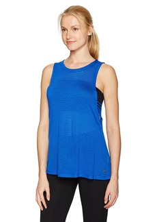 Calvin Klein Performance Women's Dropped Armhole Mesh Tank  L