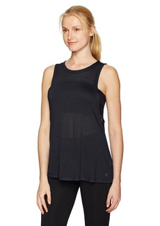 Calvin Klein Performance Women's Dropped Armhole Mesh Tank  XL