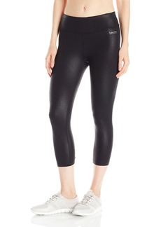Calvin Klein Performance Women's Embossed Print Crop Legging