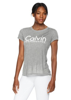 Calvin Klein Performance Women's Epic Knit Short Sleeve Tee