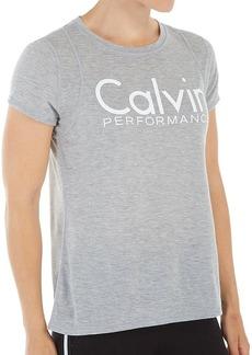 Calvin Klein Performance Women's Epic Knit Short Sleeve Tee