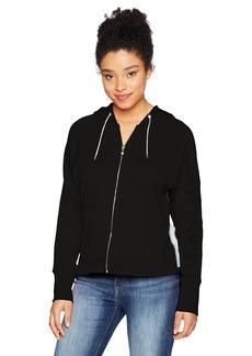 Calvin Klein Performance Women's Full Zip Logo Terry Hoodie