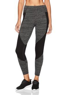 Calvin Klein Performance Women's High Waist Color Block Full Length Legging  XL