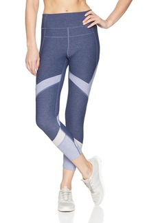 Calvin Klein Performance Women's High Waist Colorblock Compression Tight iris ice Combo