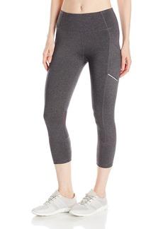 Calvin Klein Performance Women's High Waist Crop Tight With Side Pockets  M