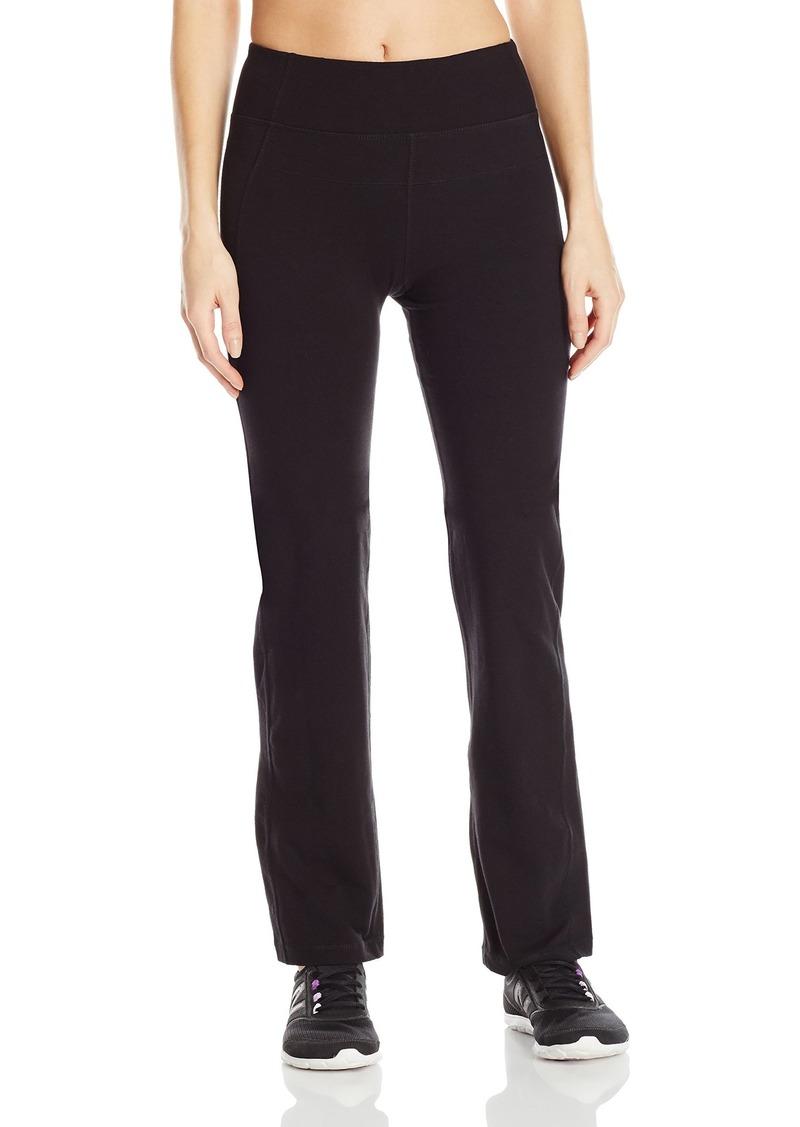 Calvin Klein Performance Women's High Waist Narrow Straight Leg Pant  S