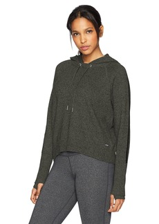 Calvin Klein Performance Women's Hooded Crop Long Sleeve Sweater  L