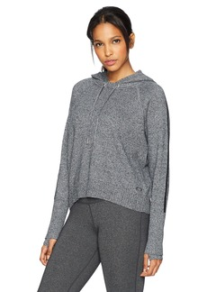 Calvin Klein Performance Women's Hooded Crop Long Sleeve Sweater  XL