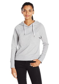 Calvin Klein Performance Women's Icon Corded Logo Crop Hooded Pullover  S