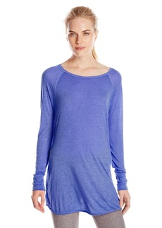 Calvin Klein Performance Women's ICY Wash Raglan Sleeve Top