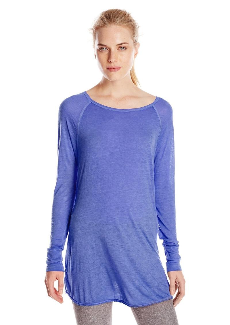 Calvin Klein Performance Women's ICY Wash Raglan Sleeve Top