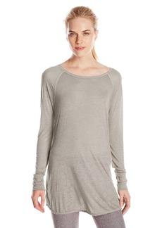 Calvin Klein Performance Women's ICY Wash Raglan-Sleeve Top