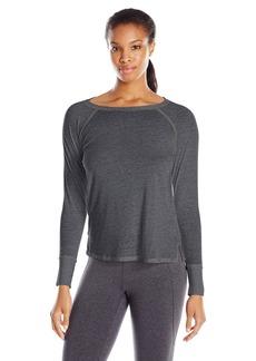 Calvin Klein Performance Women's Icy Wash Tunic Length Tee  X-Large