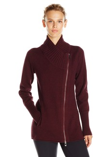 Calvin Klein Performance Women's Knit Asymmetric Tunic Length Jacket