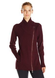 Calvin Klein Performance Women's Knit Asymmetric Tunic Length Jacket