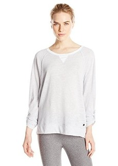 Calvin Klein Performance Women's Knit Micro Stripe Tee