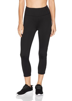Calvin Klein Performance Women's Large Back Leg Logo High Waist Crop Length Tight  M