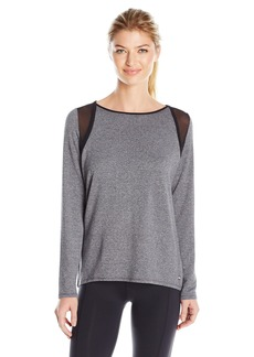 Calvin Klein Performance Women's Long Sleeve Tee With Mesh Inserts