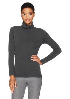 Calvin Klein Performance Women's Long Sleeve Turtleneck Tee  L