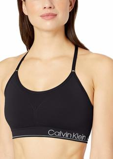 Calvin Klein Performance Women's Low Impact Sports Bra with Removable Cups Bra