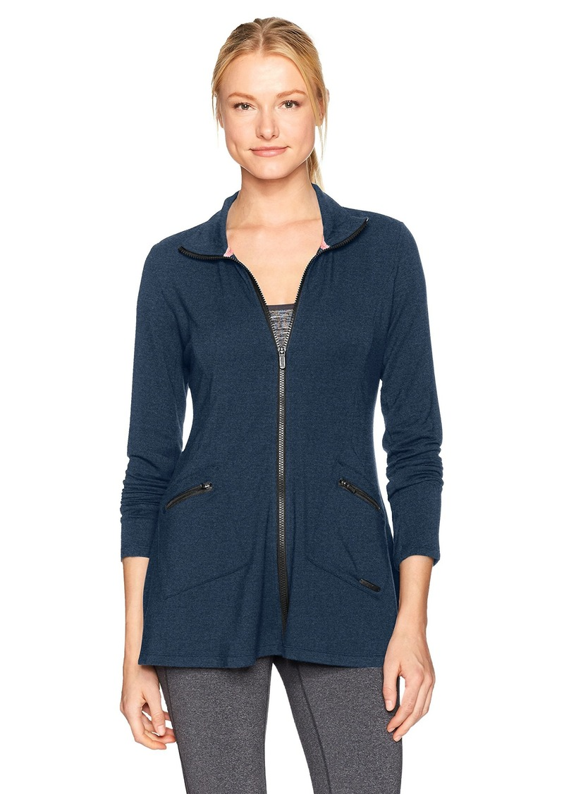 Calvin Klein Performance Women's L/s High Collar Jacket  M