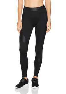 Calvin Klein Performance Women's Matte and Shine Mix Full Length Tight  L