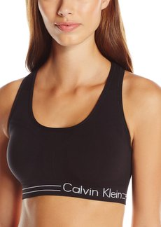 Calvin Klein Performance Women's Medium Impact Bra With Rem. Cups  S