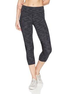 Calvin Klein Performance Women's Miramar Stripe Crop Fitness Tight