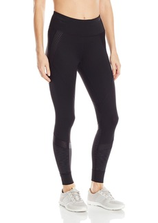 Calvin Klein Performance Women's Mixed Texture Print Legging  L