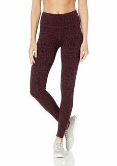 Calvin Klein Performance Women's NYC Logo Print High Waist Full Length Jersey Legging