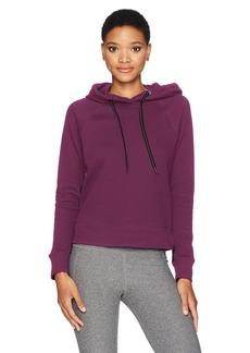 Calvin Klein Performance Women's Oversized Logo Hoodie Bonded Sleeve/Side seams  S