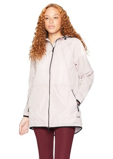 Calvin Klein Performance Women's Packable Hooded Walker with Detachable Backpack  Extra Large