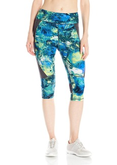 Calvin Klein Performance Women's Palermo Print Crop Legging Aruba eas mall