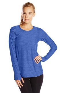 Calvin Klein Performance Women's Pleat-Back Long-Sleeve Top