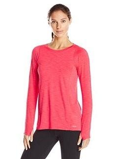 Calvin Klein Performance Women's Pleated Back Lightening Jersey Tee