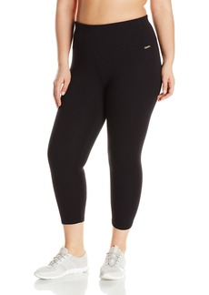 Calvin Klein Performance Women's Plus Sizecontrol Waistband Capri Legging Size