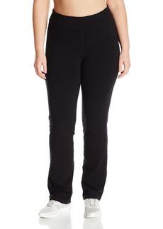 Calvin Klein Performance Women's Plus SizeHigh Waist Narrow Straight Leg Pant Size