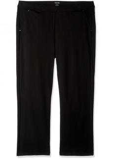 Calvin Klein Performance Women's Plus SizePonte Bootleg Pant-30 Inch Inseam Size