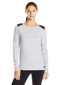 Calvin Klein Performance Women's Quilted Accent Tee