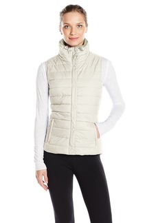 Calvin Klein Performance Women's Quilted Vest with Sherpa Collar  M