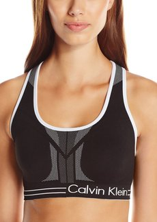 Calvin Klein Performance Women's Reversible Medium Impact Bra  L
