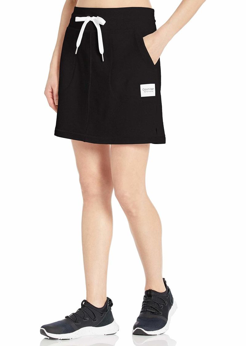 Calvin Klein Performance Women's Rib Trim Pocket Skirt