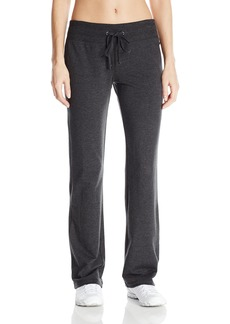 Calvin Klein Performance Women's Rib Waistband with Drawstring Sweatpant