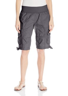 Calvin Klein Performance Women's Rollover Waistband Cargo Short with Side Ties