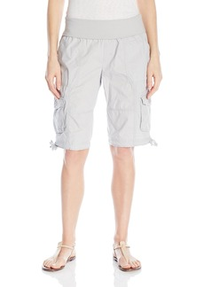 ed95343ee4f4c Calvin Klein Performance Women s Rollover Waistband Cargo Short with Side  Ties